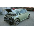Used 2006 Volkswagen Beetle  Parts - Green with black interior, 4 cylinder engine, Automatic transmission