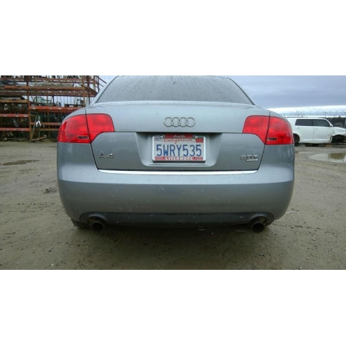 2007 Audi A4 Turbo Problems: Gray With Black Interior, 2