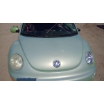 Used 2001 Volkswagen Beetle Parts - Green with gray interior, 2.0L engine, automatic transmission