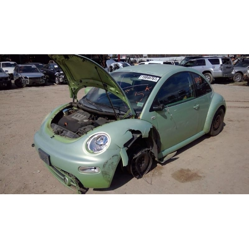 used 2001 volkswagen beetle parts green with gray. Black Bedroom Furniture Sets. Home Design Ideas