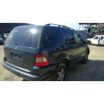 Used 2001 Mercedes 163 Chassis ML320 Parts Car- Blue with tan interior, 6 cylinder, automatic  transmission