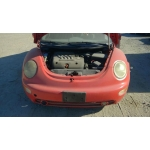 Used 2003 Volkswagen Beetle Parts - Orange with black interior, 2.0L engine, automatic transmission