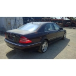 Used 2001 Mercedes 220 Chassis S430 Parts - Purple with black interior, 8 cylinder, automatic transmission