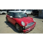 Used 2003 Mini Cooper Parts - Red with black interior, 4 cylinder engine, automatic transmission