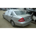 Used 2002 Mercedes 203 Chassis C320 Parts - Silver with black interior, 6 cylinder engine, automatic transmission