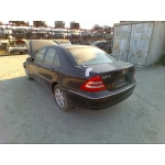 Used 2003 Mercedes 203 Chassis C240 Parts - Black with tan interior, 6 cylinder engine, automatic transmission