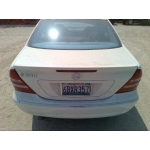 Used 2007 Mercedes 203 Chassis C230 Parts - White with gray interior, 6 cylinder engine, automatic  transmission
