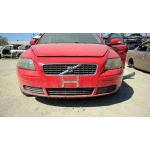 Used 2007 Volvo S40 Parts - Red with grey interior, 5 cylinder, Automatic transmission