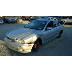 Used 2002 Jaguar X-type Parts - Silver with black interior, 6 cylinder engine, automatic transmission