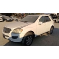 Used 2006 Mercedes 164 Chassis ML350 Parts Car- White with brown interior, 6 cylinder, automatic transmission