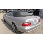 Used 2003 Mercedes CLK320 Parts - Silver with black interior, 6 cylinder engine, Automatic transmission