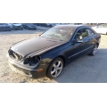 Used 2005 Mercedes CLK320 Parts - Black with black interior, 6 cylinder engine, Automatic transmission