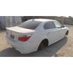 Used 2004 BMW 530i Parts - White with orange interior, 6 cylinder engine, automatic transmission