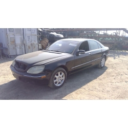 Used 2001 Mercedes 220 Chassis S500 Parts - Black with black interior, 8 cylinder, Automatic transmission