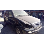 Used 2002 Mercedes 163 Chassis ML320 Parts Car- Black with black interior, 6 cylinder, automatic transmission