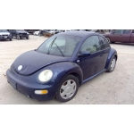 Used 2002 Volkswagen Beetle Parts - Blue with grey interior, 2.0L engine, automatic transmission