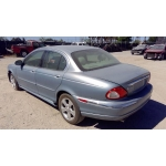 Used 2003 Jaguar X-type Parts - Blue with tan interior, 6 cylinder engine, automatic transmission