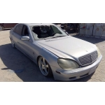 Used 2000 Mercedes 220 Chassis S500 Parts - Blue with grey interior, 8 cylinder, Automatic transmission