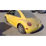 Used 2002 Volkswagen Beetle Parts - Yellow with black interior, 1.9L diesel engine, automatic transmission