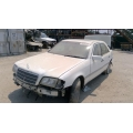 Used 1997 Mercedes 202 Chassis C280 Parts - White with tan interior, 6 cylinder engine, automatic  transmission