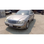 Used 2004 Mercedes 211 Chassis E320 Parts - Silver with grey interior, 6 cylinder engine, automatic  transmission