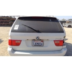 Used 2002 BMW X5 Parts - White with tan interior, 6 cylinder engine, automatic transmission
