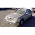 Used 2002 Mercedes 203 Chassis C240 Parts - Silver with grey interior, 6 cylinder engine, automatic transmission