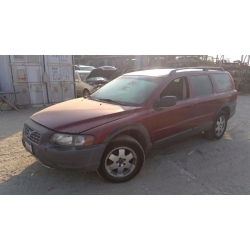 Used 2004 Volvo XC90 Parts - Red with tan interior, 5 cylinder, automatic transmission
