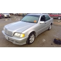 Used 2000 Mercedes 202 Chassis C230 Sport Parts - Silver with black interior, 4 cylinder engine, automatic  transmission
