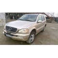 Used 2004 Mercedes 163 Chassis ML350 Parts Car- Gold with tan interior, 8 cylinder, automatic transmission