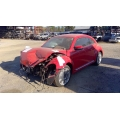 Used 2012 Volkswagen Beetle Parts - Red with black interior, 2.5L engine, automatic transmission