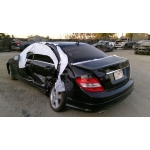 Used 2010 Mercedes 204 Chassis C300 Parts - Black with black interior, 6 cylinder engine, automatic  transmission