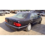 Used 1999 Mercedes 210 Chassis E320 Parts -Black with tan interior, 6 cylinder engine, automatic  transmission