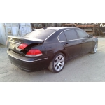 Used 2006 BMW 750Li Parts - Black with black interior, 8 cylinder engine, automatic transmission
