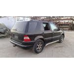 Used 2000 Mercedes 163 Chassis ML320 Parts Car- Black with black interior, 6 cylinder, automatic  transmission